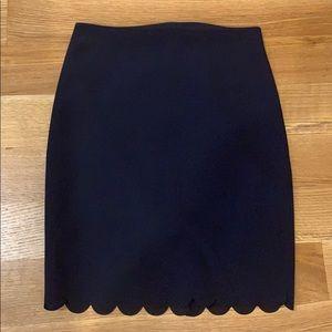 Banana Republic | Scalloped Hem Skirt | Size 2